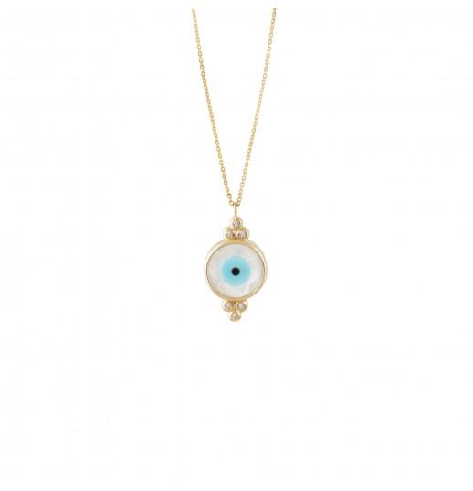 Evil Eye Necklace Charm